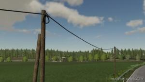 Telephoneline SET (Prefab) for Farming Simulator 19