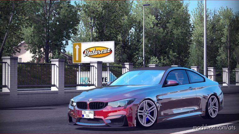 BMW M4 GTS V1.1 [1.37] for American Truck Simulator