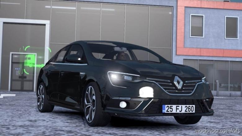 Renault Megane IV V1R30 [1.37] for American Truck Simulator
