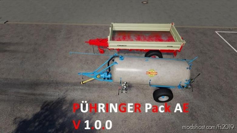 Puehringer Pack Austria Edition for Farming Simulator 19