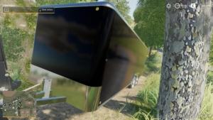 25FT Enclosed Trailer for Farming Simulator 19