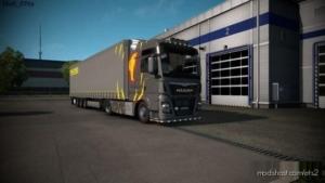 MAN Lion Editon + Megaliner / Metallic | Paintable for Euro Truck Simulator 2