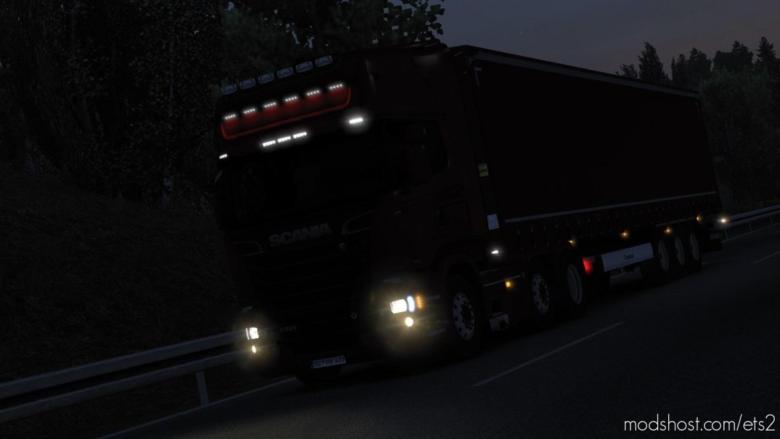 Realistic Headlights for Euro Truck Simulator 2