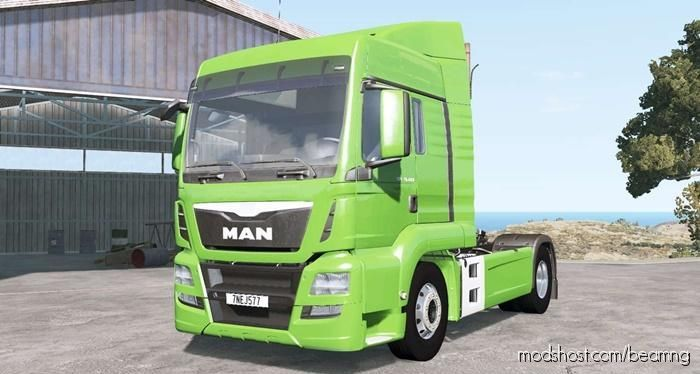 MAN TGS 18.480 Truck for BeamNG.drive