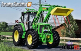 John Deere 6030 Premium Series 4CYL for Farming Simulator 19