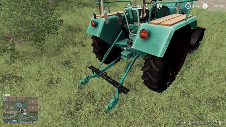 Kramer Ackerschiene 110CM for Farming Simulator 19