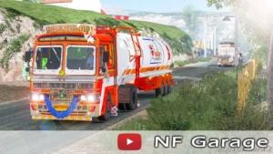 Indian OIL Tanker Trailer [1.37] for Euro Truck Simulator 2