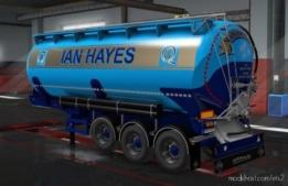 IAN Hayes Haulage & Simon Gibson Skins for Euro Truck Simulator 2