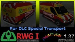 RWG I Sprinter Escort Vehicle for Euro Truck Simulator 2