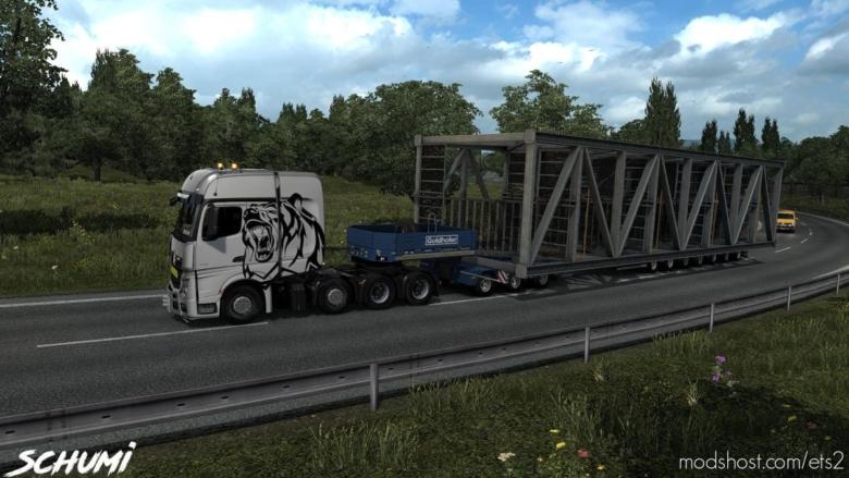 Mercedes Actros MP4 V2.1 for Euro Truck Simulator 2