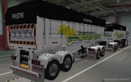 Skin Rodotrem Pastre Transportadora PRA Frente Brasil [1.37] for Euro Truck Simulator 2