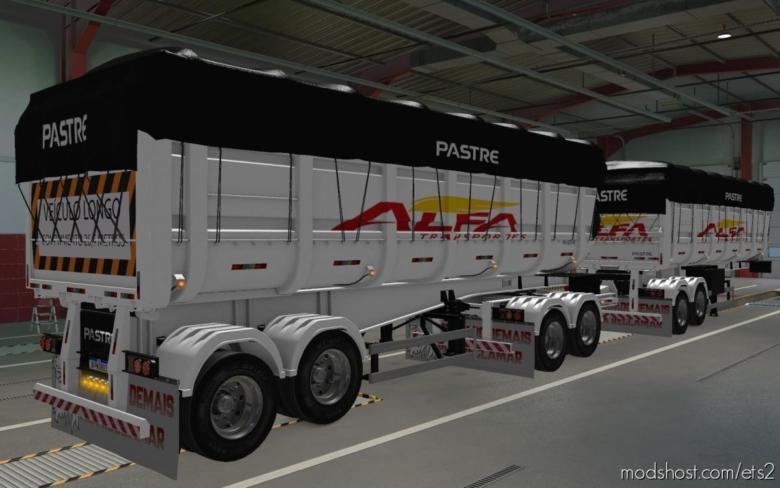 Skin Rodotrem Basculante Pastre By Wpneves Alfa Transportes [1.37] for Euro Truck Simulator 2