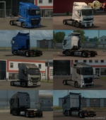 LOW Deck Chassis Addons For Schumi S Trucks V4.0 By Sogard3 for Euro Truck Simulator 2