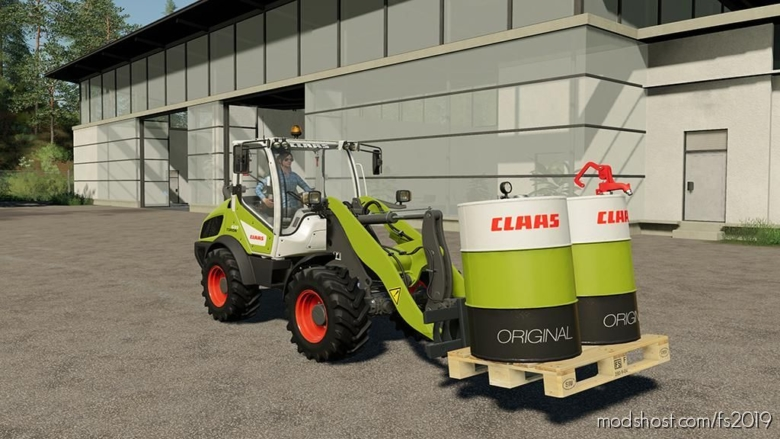 Claas Diesel Addon V1.0.0.1 for Farming Simulator 19
