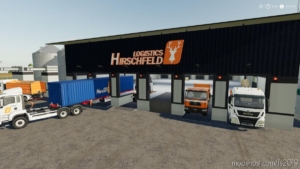 Hirschfeld Logistics Globalmarket for Farming Simulator 19