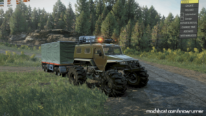 YAR87 4 Wheel Crawler V1.1 for SnowRunner