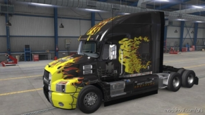 West Coast Choppers Skin For Mack Anthem for American Truck Simulator