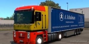 A Schulman Polska Trailer for Euro Truck Simulator 2