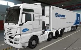 Skin MAN TGX Euro 6 SCS Casaredo [1.37] for Euro Truck Simulator 2