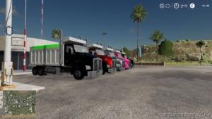 Kenworth T880 Dump Truck V1.0.0.2 for Farming Simulator 19