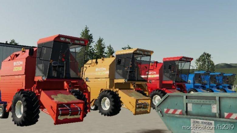 Bizon Z051-8 Rekord for Farming Simulator 19