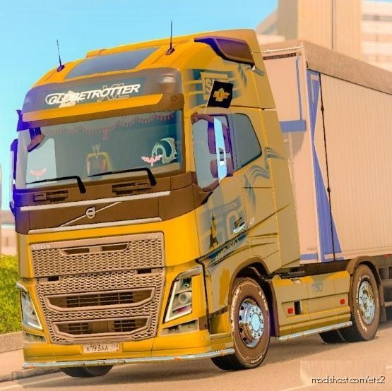Skin SNT (Ailsa) For Volvo FH 2012 SCS for Euro Truck Simulator 2