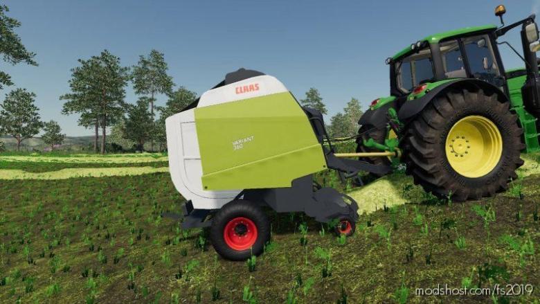 Claas Variant 360 for Farming Simulator 19