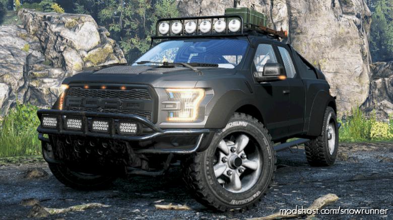 Ford F150 Raptor 2017 [1.3.1] for SnowRunner
