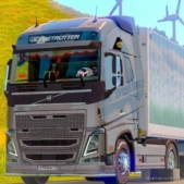 Skin SNT (Power Edition) For Volvo FH 2012 SCS for Euro Truck Simulator 2