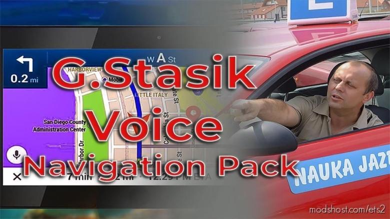 G.stasik Voice Navigation Pack for Euro Truck Simulator 2