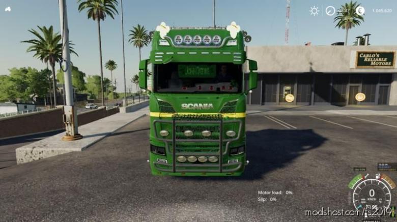 Scania John Deere for Farming Simulator 19