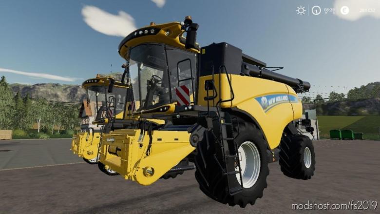 NEW Holland CR1090 for Farming Simulator 19