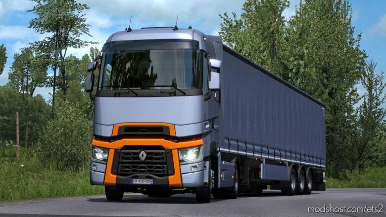 Renault T Range DTI Sound [1.37] for Euro Truck Simulator 2