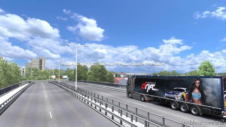 Realistic Brutal Weather V5.0.1 [1.37] for Euro Truck Simulator 2