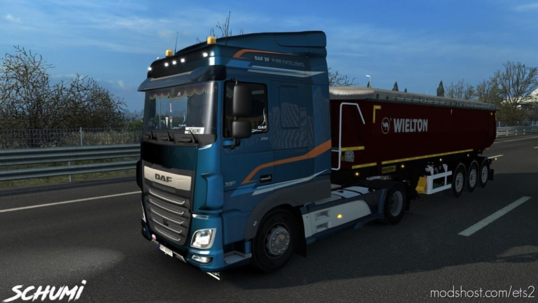 DAF XF Euro 6 Reworked V3.4 for Euro Truck Simulator 2
