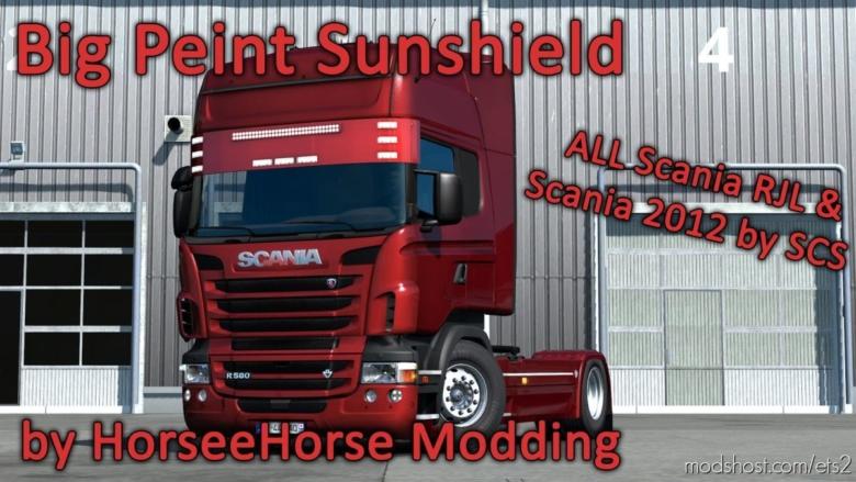 BIG Peint Sunshield V1.2 [1.37.X] for Euro Truck Simulator 2