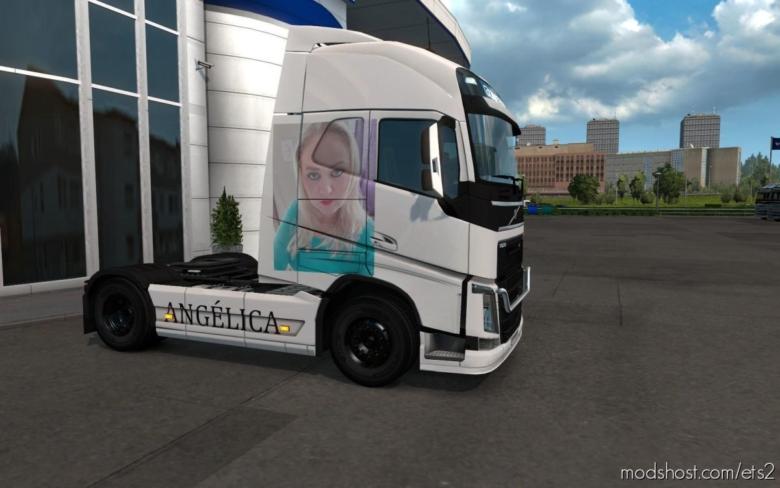 Skin Volvo FH16 2012 Angelica [1.37] for Euro Truck Simulator 2