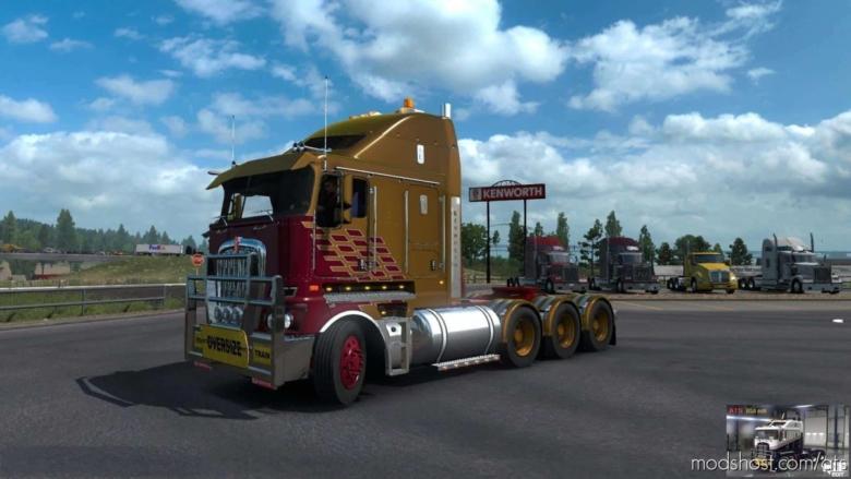 Rta-Mods Kenworth K200 V14.3 HCC Edit (BSA Edit) V1.37 for American Truck Simulator