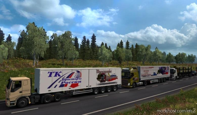 Russian Open Spaces V7.8 [1.37] for Euro Truck Simulator 2