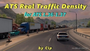 ATS Real Traffic Density By CIP V1.37.C for American Truck Simulator