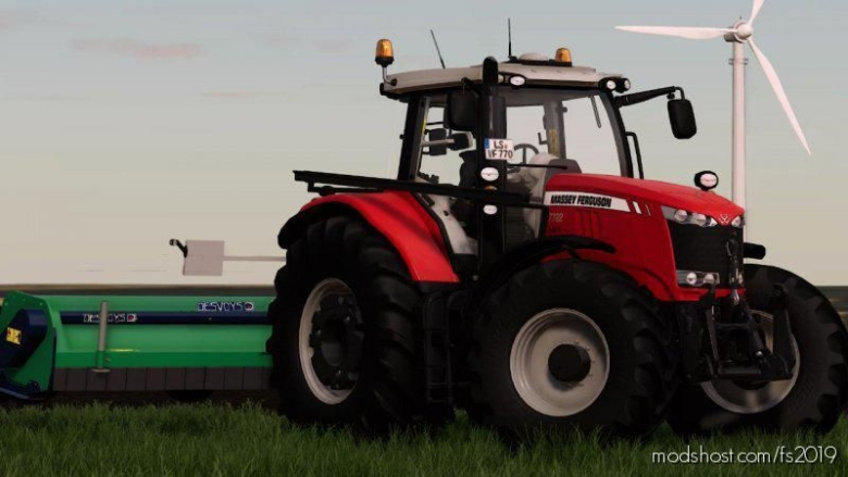 Massey Ferguson 7700 V2.0 for Farming Simulator 19
