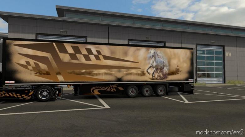 Wild Paintjob For Obelihnio's Schmitz SK.O [1.36.X] for Euro Truck Simulator 2