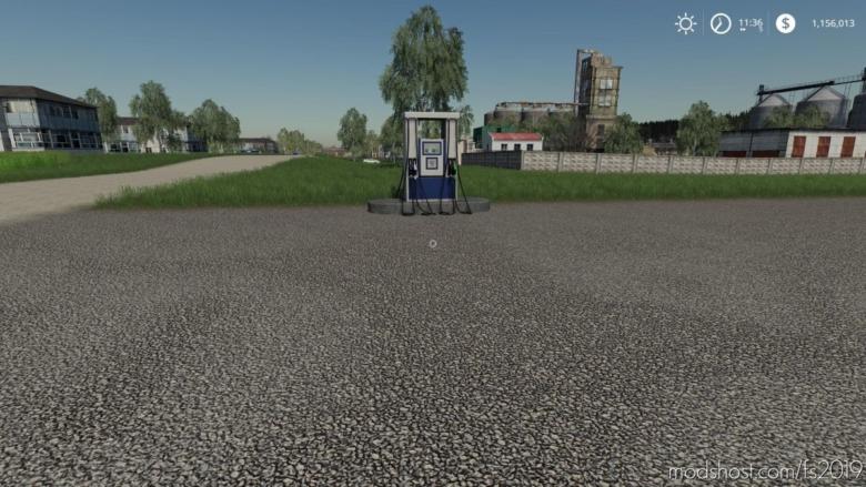 GAS Station V1.0.0.1 for Farming Simulator 19