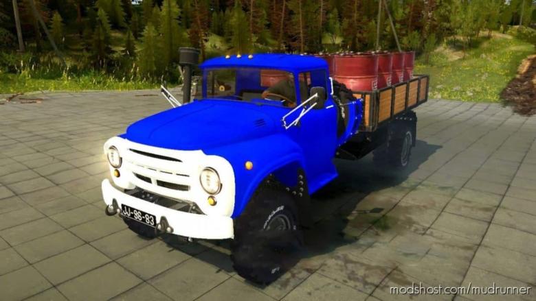 ZIL 130 4×4 Truck for MudRunner