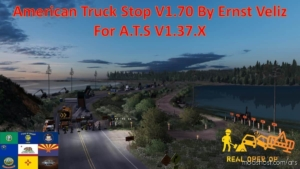 American Truck Stop V1.70 for American Truck Simulator