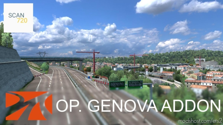 Operation Genova For Promods Addon [1.37.X] for Euro Truck Simulator 2