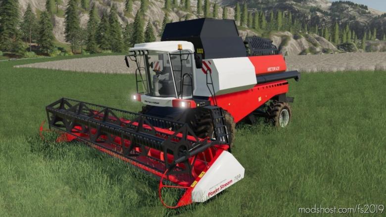Rostselmash Vector 420 V1.0.1.1 for Farming Simulator 19