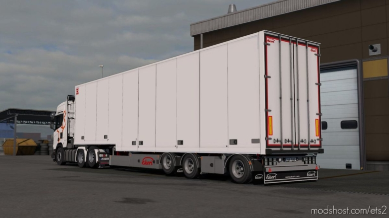 Ekeri Trailers By Kast V2.2 [1.37] for Euro Truck Simulator 2