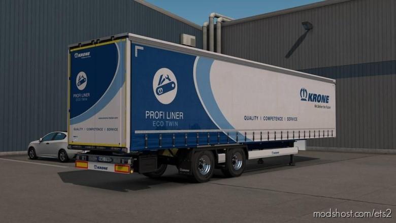 Reworked Krone Profiliner By Sogard3 V1.3 for Euro Truck Simulator 2