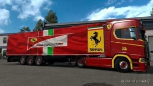 Ferrari Trailer Skin for Euro Truck Simulator 2